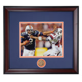 Auburn Tigers Football Cam Newton #2 Quarterback Stiff Arms South Carolina