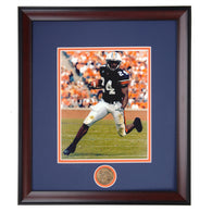 Auburn Tigers Carnell 'Cadillac' Williams Running Back #24 Framed Football Photo