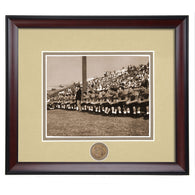 Auburn Tiger Football Framed Team Sideline Photo from the 1940's