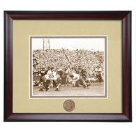 Auburn Tiger Football Framed Vintage Action Photo from the 1940's