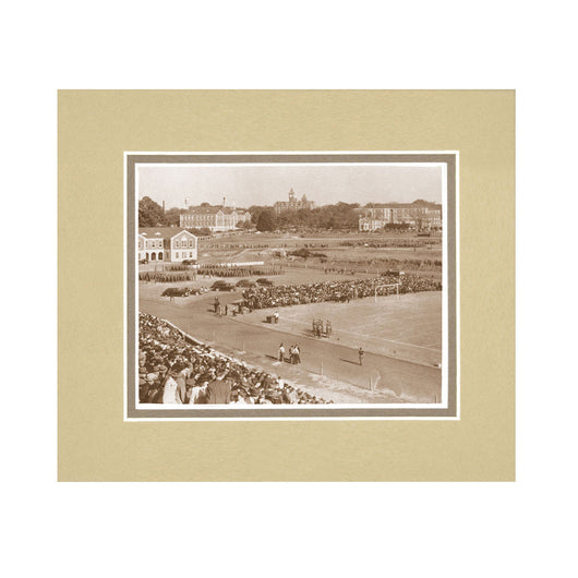 1800s Auburn Football Game Vintage Photo in Sepia