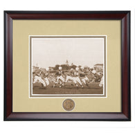 Auburn Tigers 1953 Victory Over Florida Gators 16-7 Framed Photo