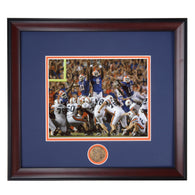 Auburn Tigers 2007 Victory over Florida featuring The Kick by Wes Byrum Framed Photo