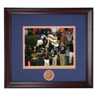 Auburn Tiger Football ESPN Game Changing Moment - Tre Smith Flips Florida during 2006 Victory Framed Photo