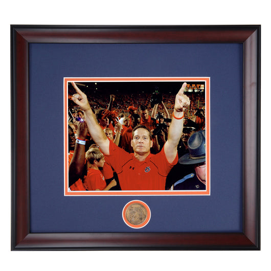 Auburn Tigers Gene Chizik Head Coach - We Are The Champions - 2010 BCS National Championship Photo