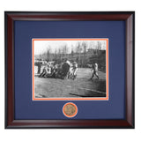 Auburn vs Alabama First Iron Bowl 1893 Vintage Photo I