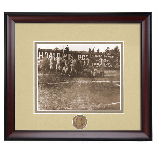 Auburn vs Alabama First Iron Bowl 1893 Vintage Photo II
