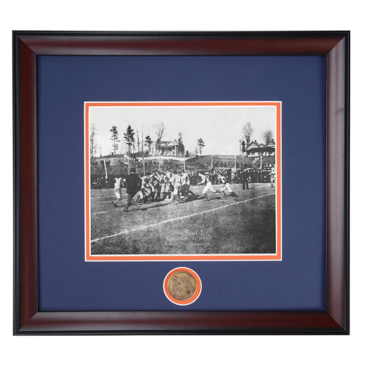 Auburn vs Alabama First Iron Bowl 1893 Vintage Photo III