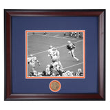 Auburn Tigers James Brooks #21 Framed Football Photo