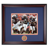 Auburn Tiger Football Running Back Kenny Irons Framed Photo