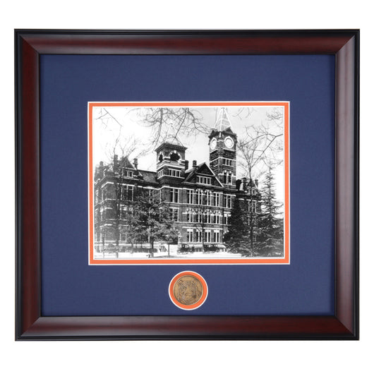 Auburn Samford Hall 1920's Framed Spirit Photo