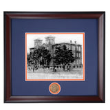 Auburn Old Main Building 1880's Framed Spirit Photo
