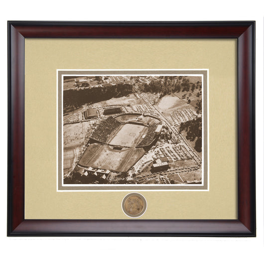 Auburn Tigers Cliff Hare Stadium 1950's Vintage Framed Photo