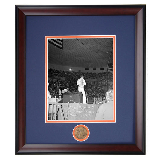 Auburn presents Elvis Presley 1974 Vintage Photo Memorial Coliseum