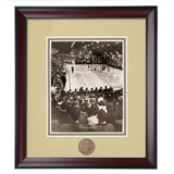"Auburn ""The Barn"" Vintage Photo 1950's Basketball Arena"