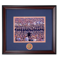 Auburn Tigers Band in Stands at Jordan Hare Stadium Framed Photo