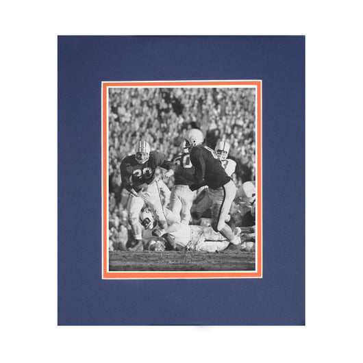 1957 National Championship Season Iron Bowl Auburn vs Alabama