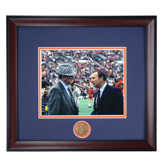 Auburn Head Coach Pat Dye and Alabama Legend Bear Bryant