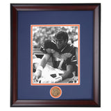 Auburn Tiger Quarterback Legend Pat Sullivan Heisman Trophy Winner Framed Photo