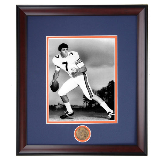 Auburn Tiger Football Legend Pat Sullivan Framed Photo - Heisman Trophy Winner