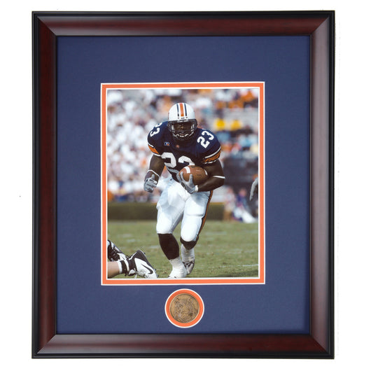 Auburn Football Star Ronnie Brown Framed Photo