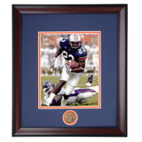 Auburn Tiger Football Star Ronnie Brown Framed Photo