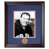 Auburn Tigers Coaching Legend Shug Jordan Framed Photo