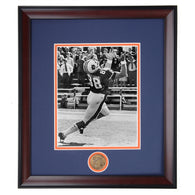 Auburn Tigers Terry Beasley #88 Wide Receiver Framed Football Spirit Photo