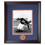 Auburn Tiger Football Vince Dooley #25 Quarterback Framed Football Photo