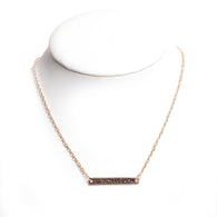 Jordan-Hare Coordinates Necklace in Gold