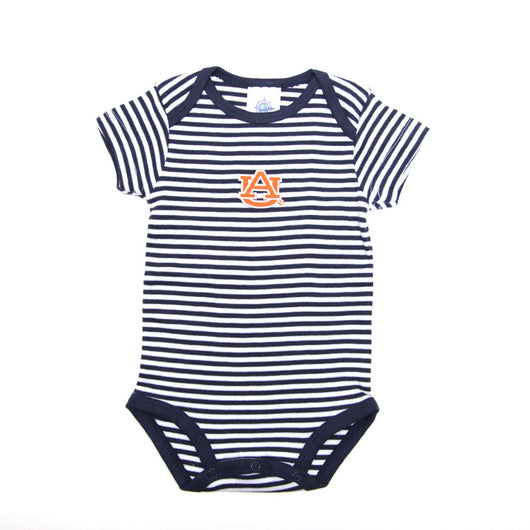 Navy Striped AU Onesie