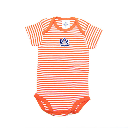 Orange Striped AU Onesie
