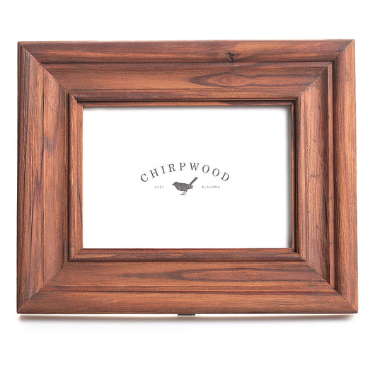 Chirpwood Natural Finish Picture Frame In Classic Silhouette, 5x7