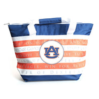 Auburn Game Day Fight Song Cooler Tote