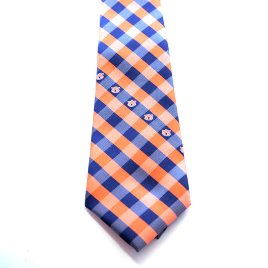 Auburn University Spirit Check Tie
