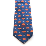 Auburn University Toomers Oak Tie in Navy