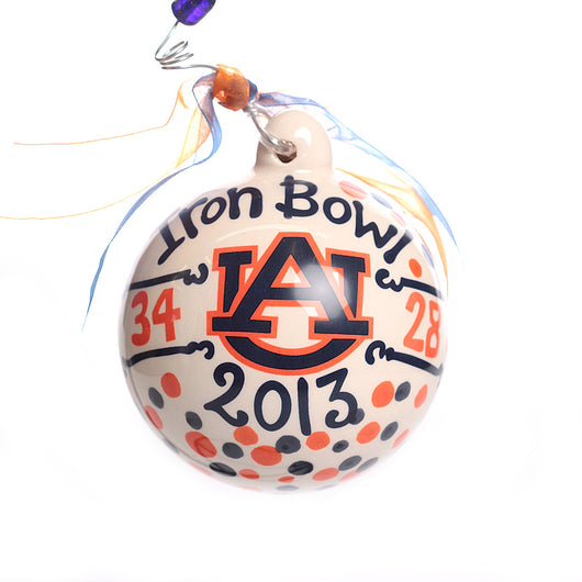 Auburn Iron Bowl Ornament