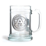 Auburn Stein with Pewter AU Logo