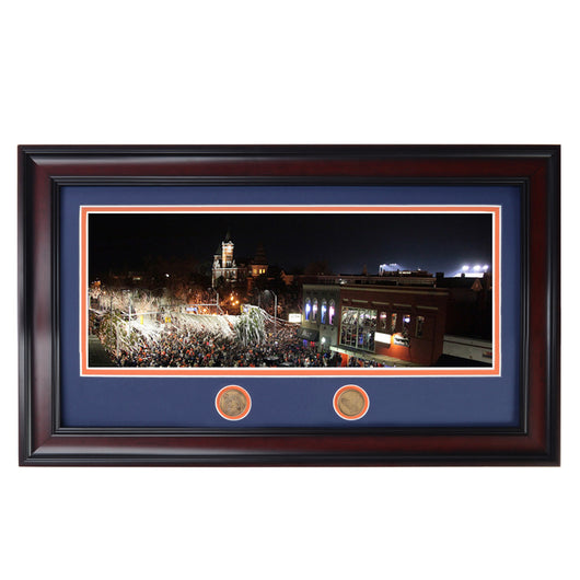 Iron Bowl 2013 Victory Celebration at Toomer's Corner Pano