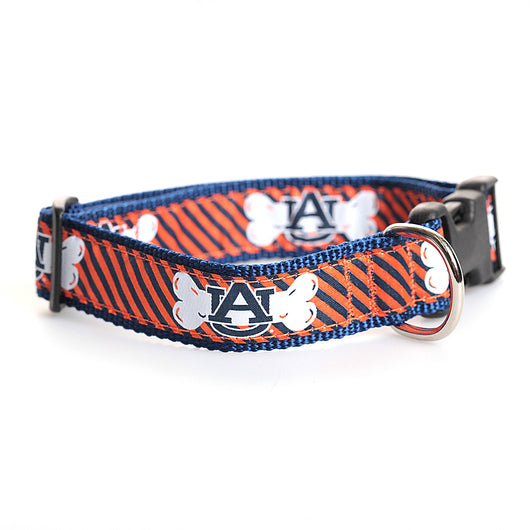 Dog Bone Collar with AU Logo