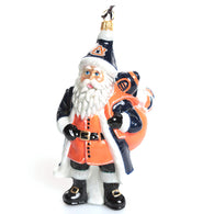 Collectible Auburn Santa Ornament