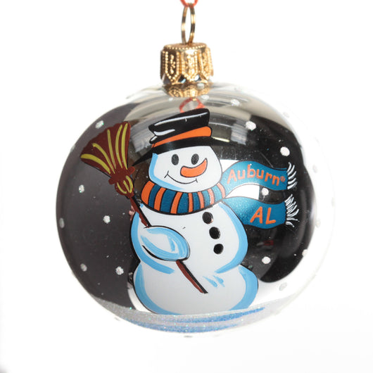 Exclusive Auburn Collectible Snowman Ornament