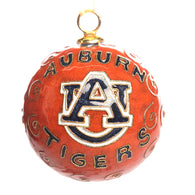 Auburn Tigers Orange Cloisonné Ornament