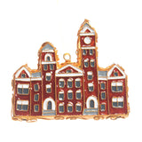 Samford Hall Cutout Cloisonné Ornament