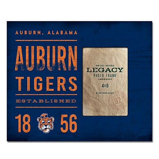Auburn Tigers 1856 10x12 Frame (Holds 4x6 Photo)