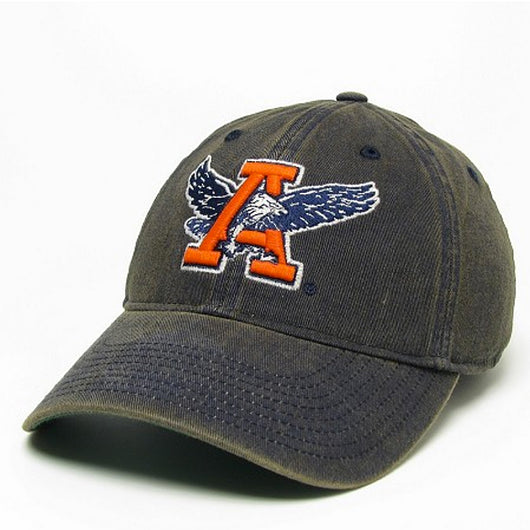 Navy Vintage Eagle Through A Hat