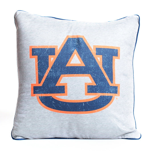 AU Logo Vintage Spirit Square Pillow