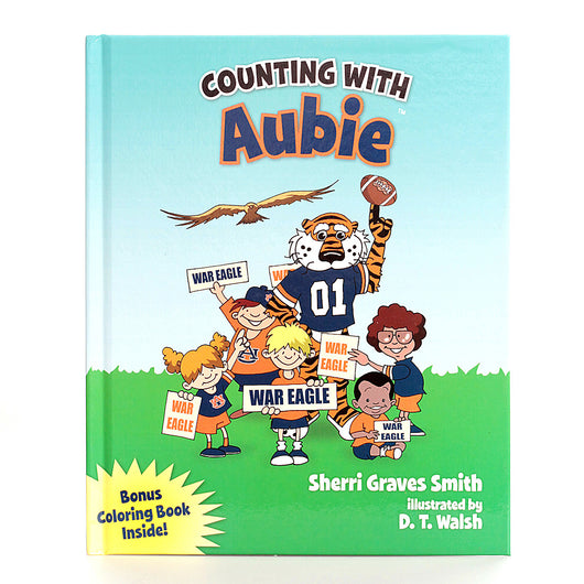 Aubie 123 Counting Book