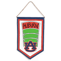 Auburn Football Field Door Hanger