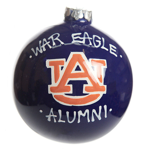 Auburn Alumni Christmas Ornament - an Auburn Art Exclusive